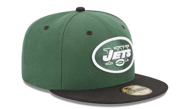 NEW YORK JETS 2TONE 59FIFTY FITTED