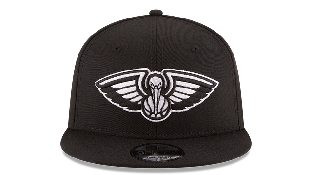 NEW ORLEANS PELICANS BASIC BLACK 9FIFTY SNAPBACK