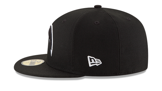 LOS ANGELES CHARGERS BLACK & WHITE 59FIFTY FITTED