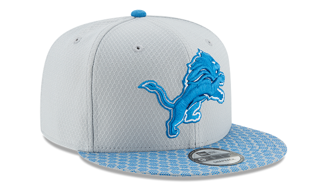 DETROIT LIONS OFFICIAL SIDELINE 9FIFTY SNAPBACK