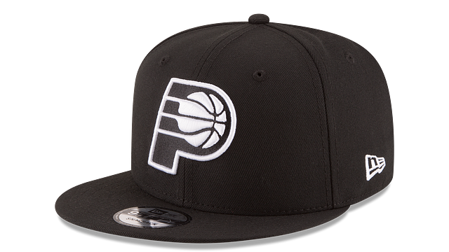 INDIANA PACERS BASIC BLACK 9FIFTY SNAPBACK