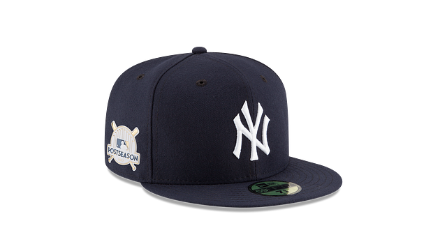 NEW YORK YANKEES POSTSEASON SIDE PATCH AC 59FIFTY FITTED