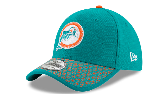 MIAMI DOLPHINS OFFICIAL SIDELINE 39THIRTY STRETCH FIT