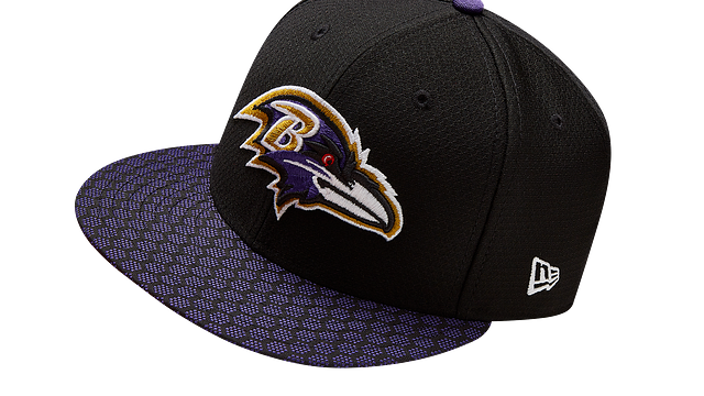 BALTIMORE RAVENS OFFICIAL SIDELINE 59FIFTY FITTED