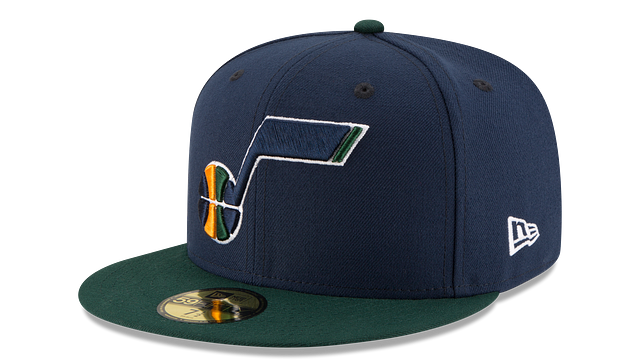 UTAH JAZZ 2TONE 59FIFTY FITTED