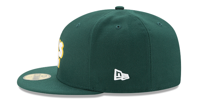 KIDS OAKLAND ATHLETICS AUTHENTIC COLLECTION 59FIFTY FITTED