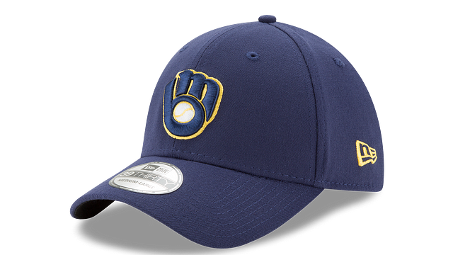MILWAUKEE BREWERS TEAM CLASSIC 39THIRTY STRETCH FIT