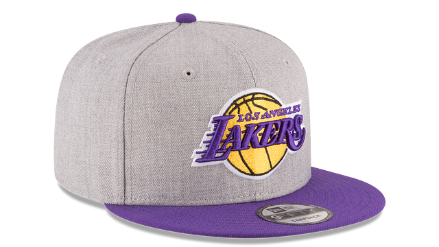 LOS ANGELES LAKERS 2TONE HEATHER 9FIFTY SNAPBACK