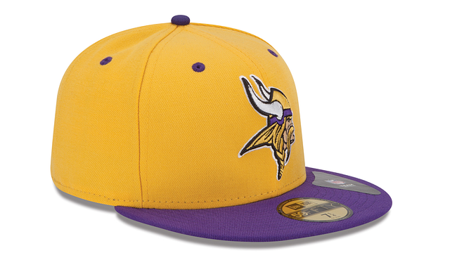 MINNESOTA VIKINGS 2TONE 59FIFTY FITTED