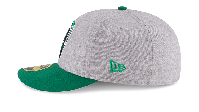 BOSTON CELTICS HEATHER LOW PROFILE 59FIFTY FITTED