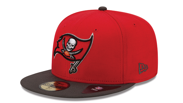 TAMPA BAY BUCCANEERS 2TONE 59FIFTY FITTED