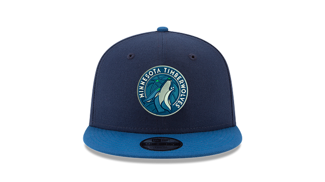 KIDS MINNESOTA TIMBERWOLVES TEAM COLOR 9FIFTY SNAPBACK
