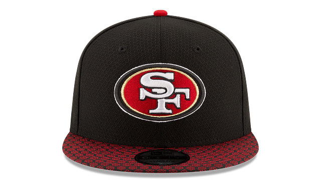 SAN FRANCISCO 49ERS OFFICIAL SIDELINE 9FIFTY SNAPBACK