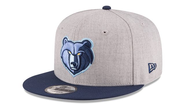 MEMPHIS GRIZZLIES 2TONE HEATHER 9FIFTY SNAPBACK