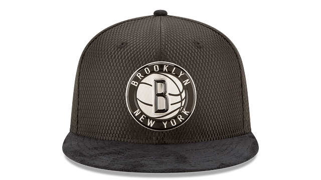 BROOKLYN NETS ON COURT 59FIFTY FITTED