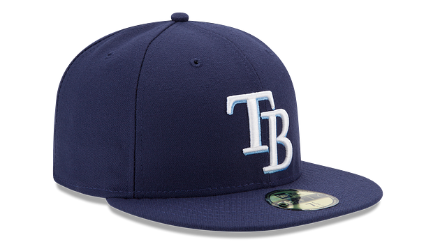 KIDS TAMPA BAY RAYS AUTHENTIC COLLECTION 59FIFTY FITTED