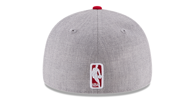 CHICAGO BULLS HEATHER LOW PROFILE 59FIFTY FITTED