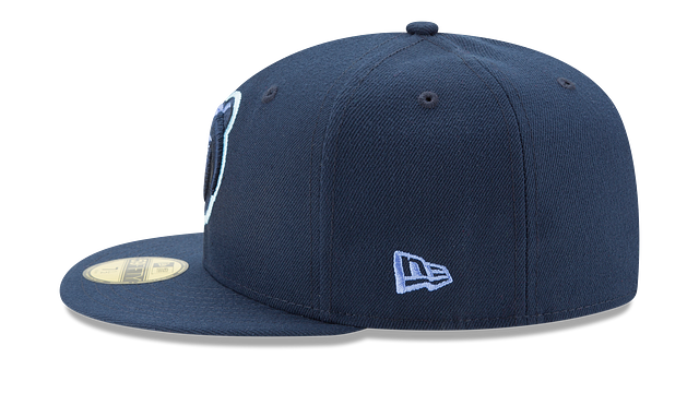 MEMPHIS GRIZZLIES TEAM COLOR 59FIFTY FITTED