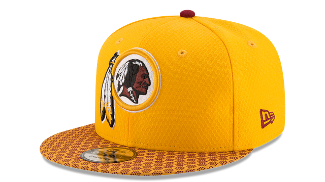 WASHINGTON REDSKINS OFFICIAL SIDELINE 9FIFTY SNAPBACK