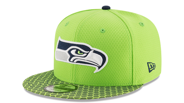 SEATTLE SEAHAWKS OFFICIAL SIDELINE 9FIFTY SNAPBACK