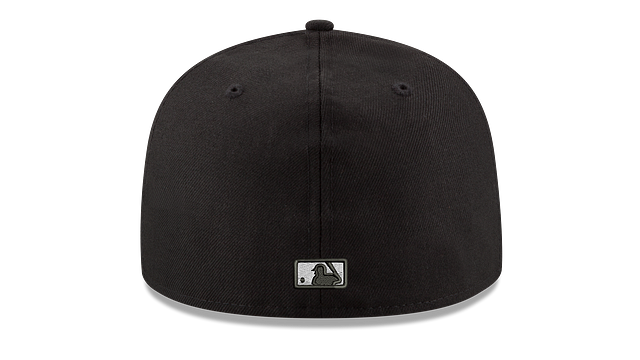KIDS CHICAGO WHITE SOX BLACK & WHITE 59FIFTY FITTED