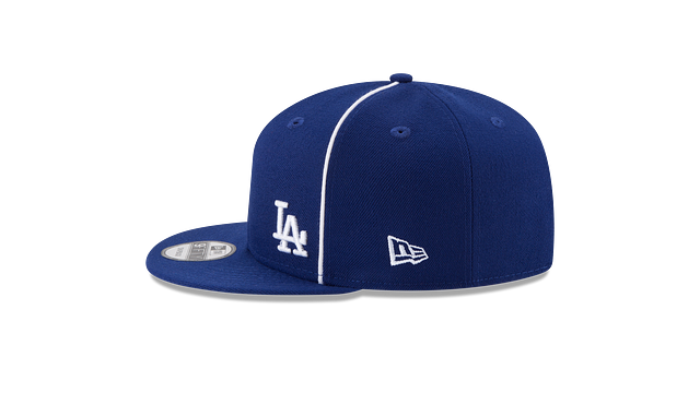 LOS ANGELES DODGERS Y2K FLAWLESS 9FIFTY SNAPBACK Left side view