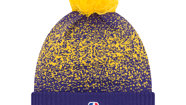 LOS ANGELES LAKERS ON COURT KNIT