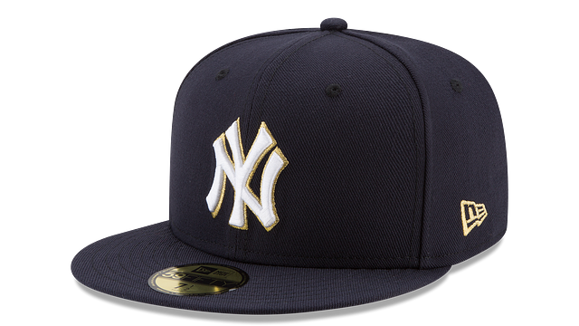 NEW YORK YANKEES MLB CHAMPION HASHMARK 59FIFTY FITTED