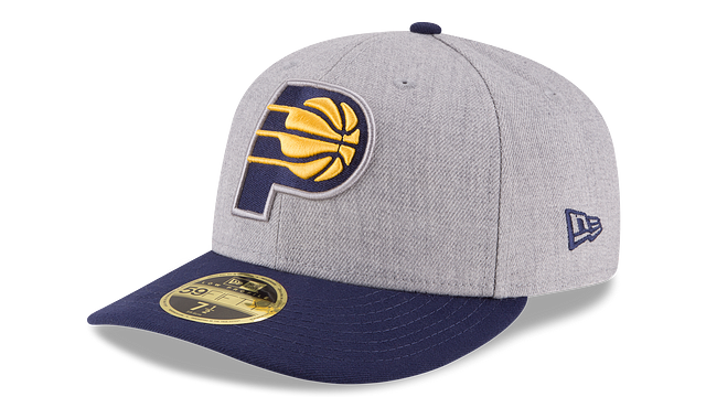 INDIANA PACERS HEATHER LOW PROFILE 59FIFTY FITTED