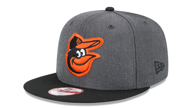 BALTIMORE ORIOLES GRAPHITE 9FIFTY SNAPBACK
