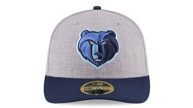 MEMPHIS GRIZZLIES HEATHER LOW PROFILE 59FIFTY FITTED