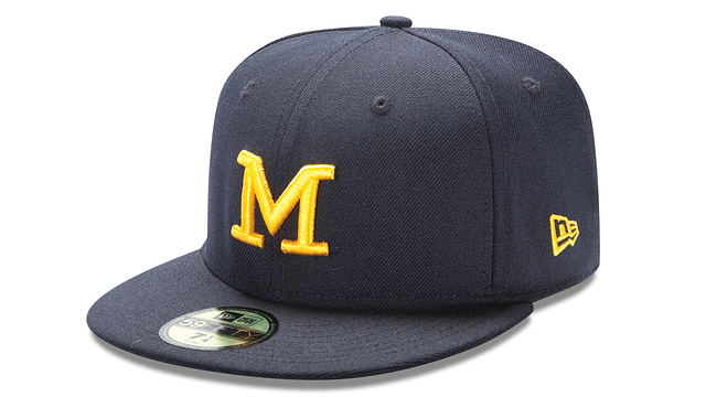 MICHIGAN WOLVERINES BASIC 59FIFTY FITTED