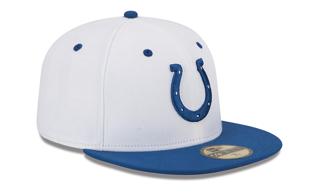 INDIANAPOLIS COLTS 2TONE 59FIFTY FITTED