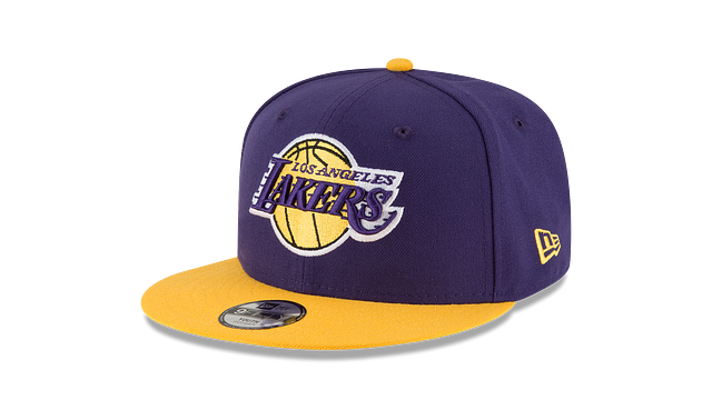 KIDS LOS ANGELES LAKERS TEAM COLOR 9FIFTY SNAPBACK