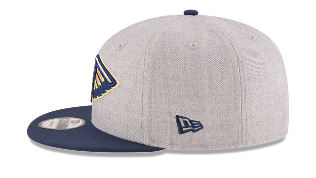 NEW ORLEANS PELICANS 2TONE HEATHER 9FIFTY SNAPBACK