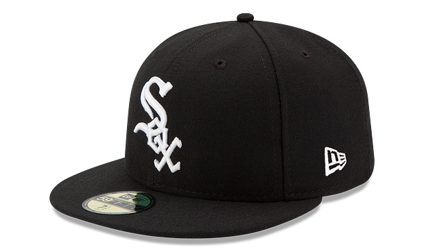 KIDS CHICAGO WHITE SOX AUTHENTIC COLLECTION 59FIFTY FITTED