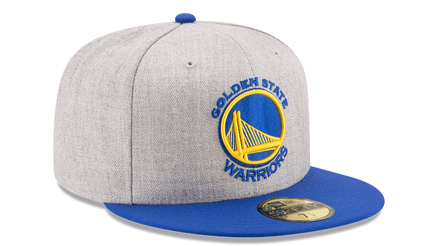 GOLDEN STATE WARRIORS HEATHER ACTION 59FIFTY FITTED