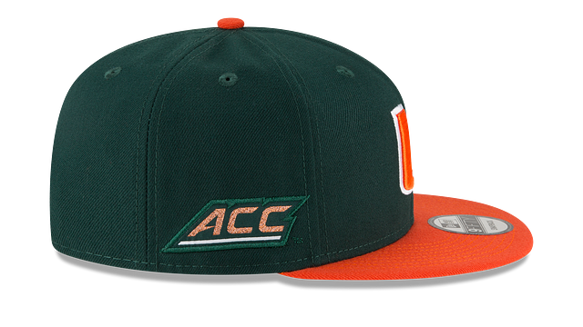 MIAMI HURRICANES TEAM PATCHER 9FIFTY SNAPBACK