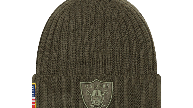 OAKLAND RAIDERS SALUTE TO SERVICE KNIT