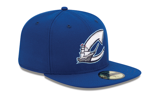 COLUMBUS CLIPPERS AUTHENTIC COLLECTION 59FIFTY FITTED