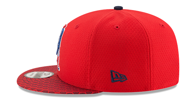 NEW ENGLAND PATRIOTS OFFICIAL SIDELINE 9FIFTY SNAPBACK
