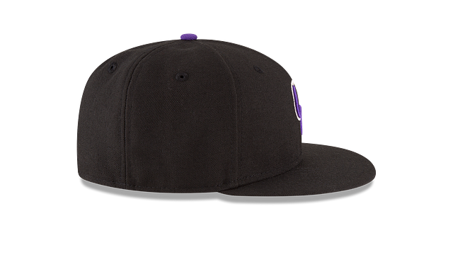 KIDS COLORADO ROCKIES AUTHENTIC COLLECTION 59FIFTY FITTED Right side view