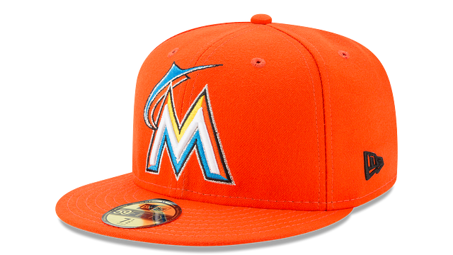 KIDS MIAMI MARLINS AUTHENTIC COLLECTION 59FIFTY FITTED