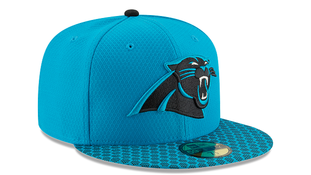 CAROLINA PANTHERS OFFICIAL SIDELINE 59FIFTY FITTED