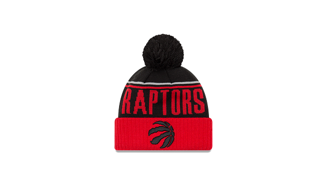 TORONTO RAPTORS JUMBO CHEER KNIT Front view