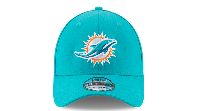 MIAMI DOLPHINS TEAM CLASSIC 39THIRTY STRETCH FIT