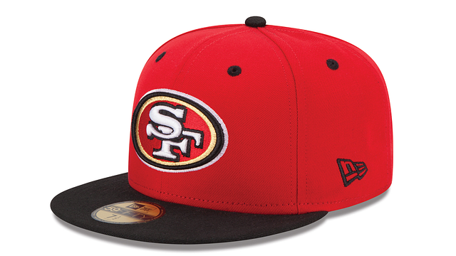 SAN FRANCISCO 49ERS 2TONE 59FIFTY FITTED