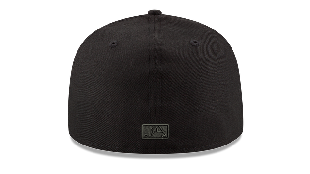 HOUSTON ASTROS MLB BLACK ON BLACK 59FIFTY FITTED