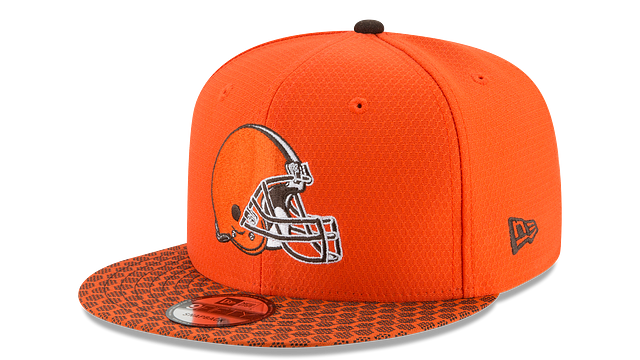 CLEVELAND BROWNS OFFICIAL SIDELINE 9FIFTY SNAPBACK