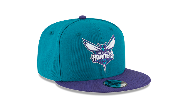 KIDS CHARLOTTE HORNETS TEAM COLOR 9FIFTY SNAPBACK